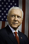 Official photograph of Orrin G. Hatch